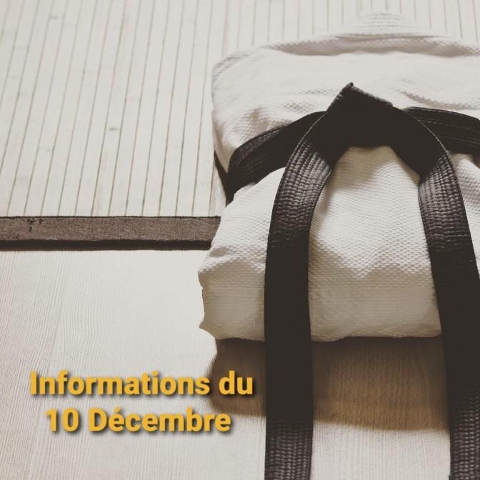 Image de l'actu 'Informations du 10 Décembre : Organisation de la fin d'année'
